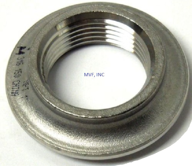 "1/4"" 150# Cast NPT Threaded Weld Spud 316 Stainless Steel"
